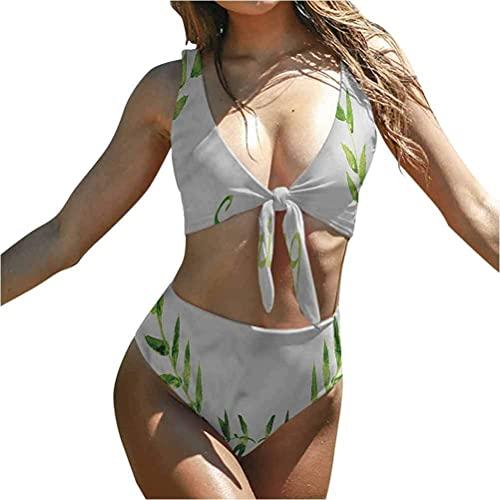 Bikini Traje De Baño De Acuarela Traje De Baño Ropa De Playa Diseño