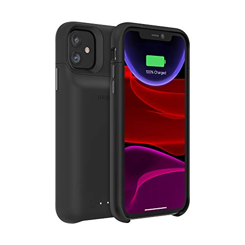 mophie 401004409 Juice Pack Access - Ultra-Slim Wireless Charging Battery Case - Made for Apple Iphone 11 - Black