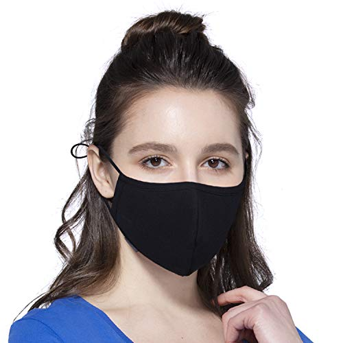 Facial Protection Filtration 95%, Anti-Fog, Dust-Proof With Adjustable Headgear Nose wire Full Face Protection Masks PM2.5 (Child Size Mask)
