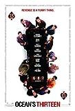 Oceans 13 Thirteen - Brad Pitt – Film Poster Plakat
