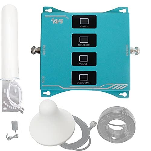 4G 3G 2G Banda di frequenza GSM LTE 800 900 1800 2100 MHz Amplificatore Kit for Il Telefono Mobile del Segnale del ripetitore band 20 8 3 1