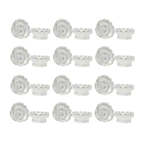 Healifty porte-colle cils anneau de colle cils tasses de fleurs extension de cils beauté outil extension de cils fournitures pour boutique salon 200pcs