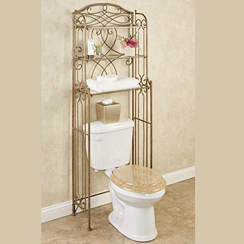 Touch of Class Abbianna Bathroom Space Saver Antique Gold