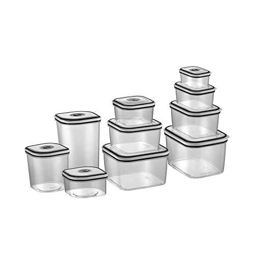 Kit Potes de Plástico Herméticos - Electrolux