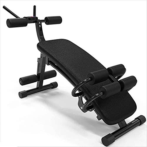 LYYJIAJU Bancos de Pesas Utilitarios de Cuerpo Completo Inicio Deportes Equipos de Fitness, Cintura Delgada y Piernas Artefacto, Máquina de Ejercicios Abdominales de musculos Abdominales