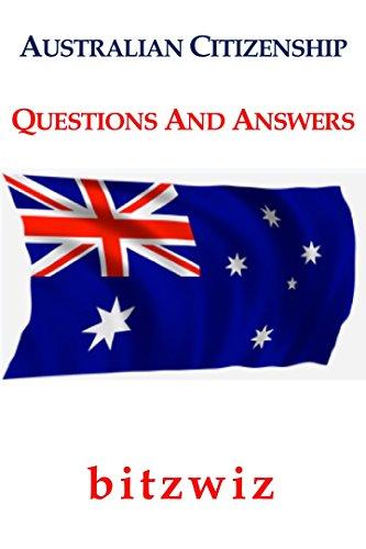 Australia Australian Citizenship Preparation Exam Questions An Answers Australia Exam Preparation Become Australian