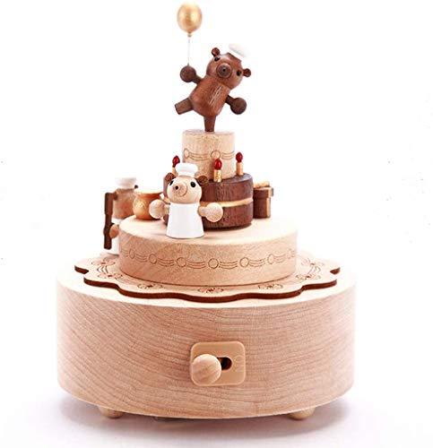 XWYYYH Spinning Caja de música del Oso de la Caja de música Caja de música Caja de música Caja de música Infantil Y6Y8H3