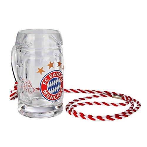 FC Bayern München 2er Set Schnaps/Glas/Trinkglas/Schnapsseidel Logo FCB - Plus gratis Aufkleber Forever München