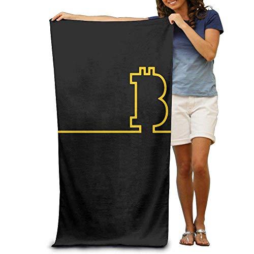 Cozy-T Beach Handtuch Bitcoin Absorbent Pool Handtuch Badetuch