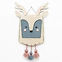 Sozo's 織機キット 子供用 織機 アート&クラフト 家の装飾用 子供へのギフトに最適 親愛なる織物