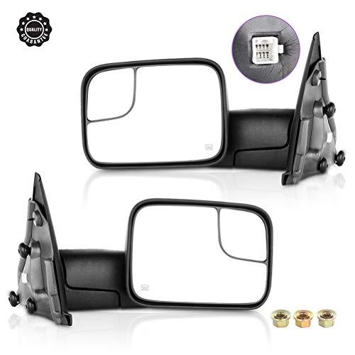 04 dodge ram 2500 tow mirrors - 6
