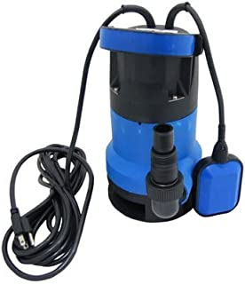 EZ Travel Collection Submersible Drain Pump, Portable Water Pump for Hot Tub, Koi Pond, Drain Up To 1,800 Gallons per Minute