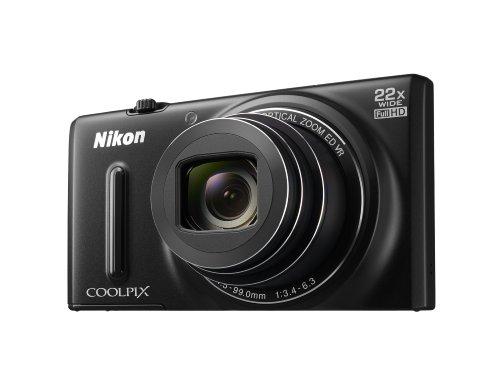 Nikon VNA500E1 - Cámara compacta de 16 MP (Pantalla de 3', Zoom óptico 22x), Negro
