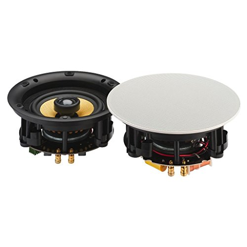 MONACOR SPE-230BT 13cm 2-Wege Bluetooth Wand/Decken-Einbaulautsprecher/Innen 90W