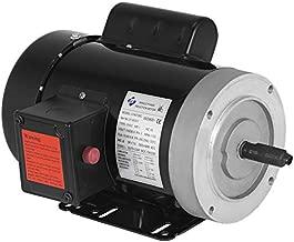 Mophorn 1 Hp Electric Motor 1725RPM 56C Frame Single Phase Industry AC Motor 11.2-5.6A 115V 230V Air Compressor Motor