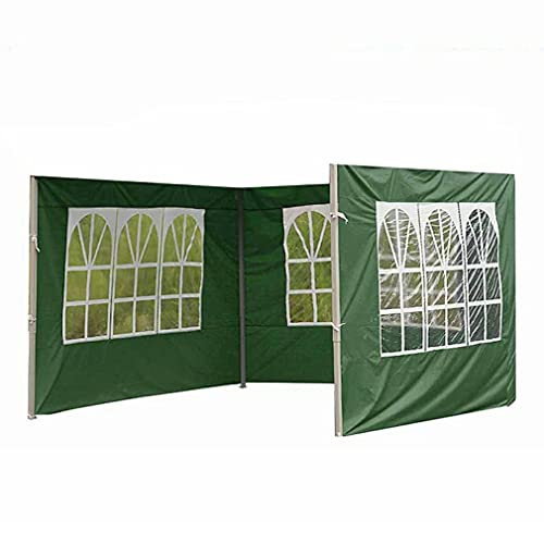 Nsdsb Carpa Apilable Paño Impermeable Sin Estante Dureza Fuerte Carpa Lisa Verde 3 M * 2M