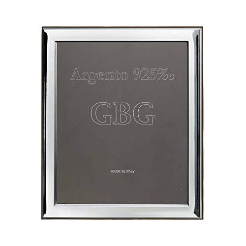 Argenteria MB Bilderrahmen Silberrahmen Glanzfotorahmen cm 13x18 aus 925 Sterling Silber