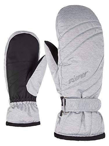 Ziener Damen KILENIS PR Mitten Lady Glove Ski-Handschuhe/Wintersport, Light Melange, 7