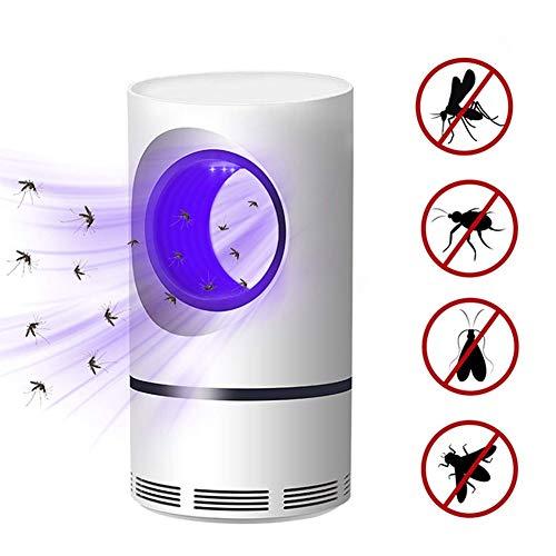 ZDXR Lámpara Antimosquitos para Proteger a los niños lampara de Mosquito para Hogar Interior Jardín Exterior Especialidad Aparato - Wraparound photocatalytic Violet Light