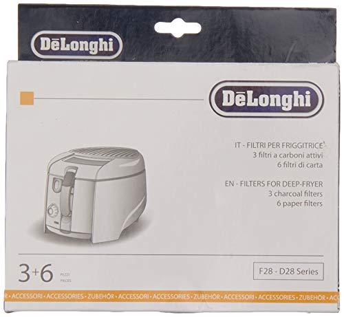 DeLonghi 5512510041Genuine Original F28/D28serie Deep Fat Fryer Filters