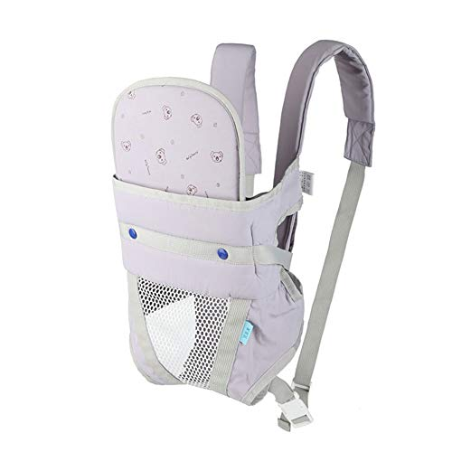 Ergonomische babydrager, 3-36 maanden, verstelbaar, multifunctioneel, ademend, rug-heuptas met 3 kleuren grijs, groen, blauw