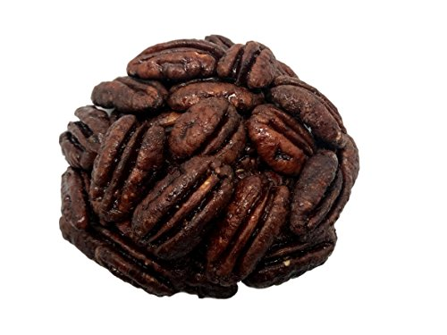 NUTS US  Honey Glazed Pecans Roasted Candied Natural 2 LB