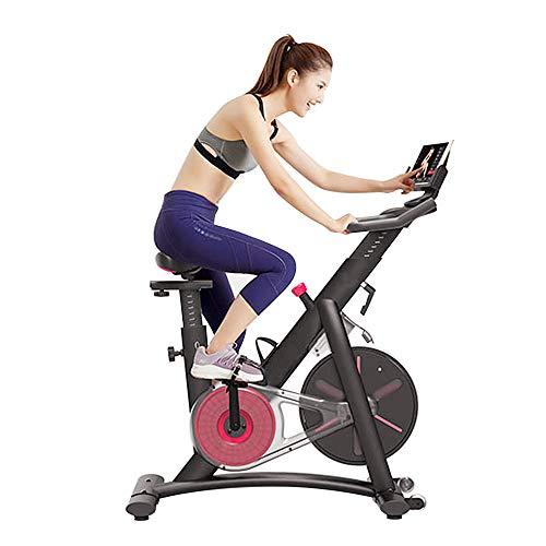 Cyclette da Casa Professionale Magnetico Connettersi al Smartphones Pad Bluetooth Supporto per iOS Android con Volano 7,5Kg Spin Bike Sportivo Fitness Ufficio Palestra per Uomo Donna [EU STOCK]