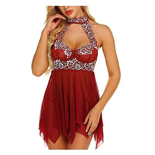 YJLYQ Disfraz erótico Mujer, lencería Sexy Mujer Picardias Conjunto de...
