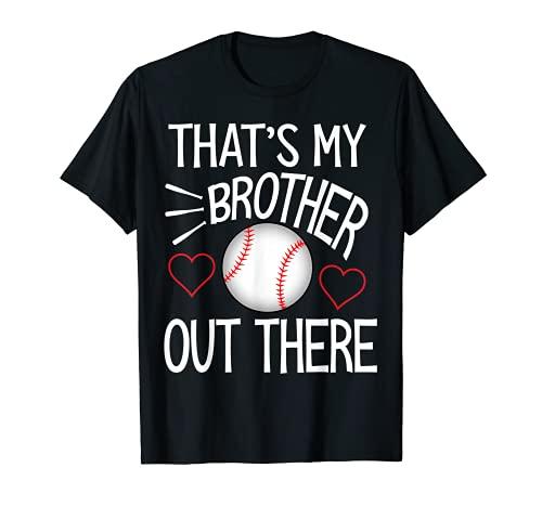 Baseball sister Shirt Cute Baseball Gift for sisters