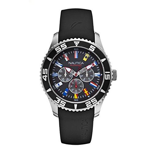 Nautica Reloj Analógico de Cuarzo para Hombre con Correa de Resina – A12626G