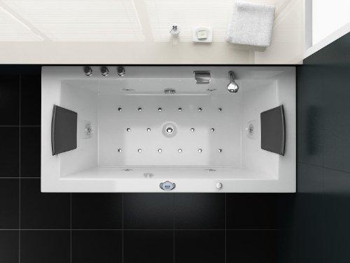 Luxus Whirlpool Badewanne 182×90 im Vollausstattung (Massage) – Sonderaktion - 5