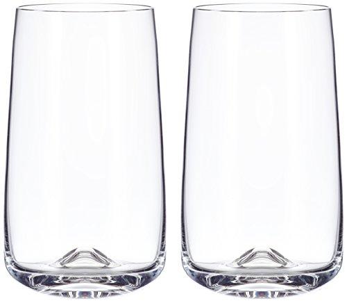 Normann Copenhagen 120810 Lot de 2 Verres à Long Drink Dimensions : 13,6 x 8 cm de diamètre, 450 ML