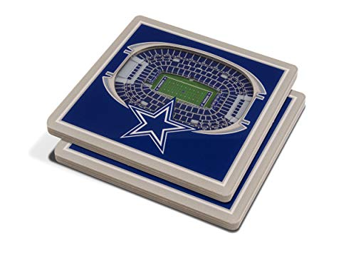 3D StadiumView Coaster Set