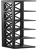 Convenience Concepts Oxford 5 Tier Corner Bookcase, Black