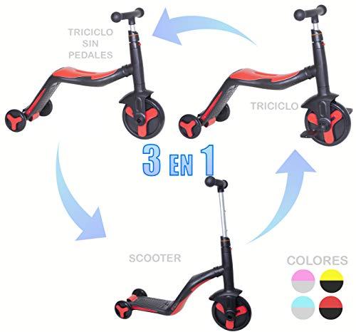 Triciclo-Scooter-Patinete My-First-Ride, vehículo de entrenamiento para niñas y niños de 2 a 5 años…