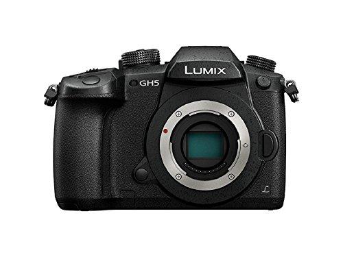 Panasonic Lumix GH5 | Appareil photo Hybride Expert (Capteur 4 3 20MP, Double stab., Viseur OLED, Écran orient. tact., AF DFD 225 Zones, 4K60p C4K24p 4:2:2 10bit, Tropicalisé) Noir – Version Française