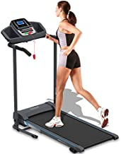 SereneLife Smart Electric Folding Treadmill – Easy Assembly Fitness Motorized Running Jogging Exercise Machine with Manual Incline Adjustment, 12 Preset Programs   SLFTRD20 Model