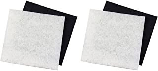 (2) Pondmaster 1000 & 2000 Carbon & Coarse Poly Pad Replacement Filters | 12202