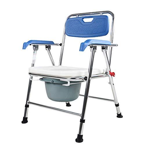 WXDP Autopropulsado Dormitorio con sillón cómodo Anself Comfort |Ajustable en Altura |para Personas Mayores, discapacitadas y discapacitadas, Aseo