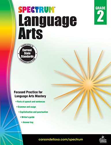 Spectrum | Language Arts Workbook | 2nd Grade, 176pgs