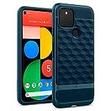 Caseology Parallax Hülle Kompatibel mit Google Pixel 5 - Aqua Green