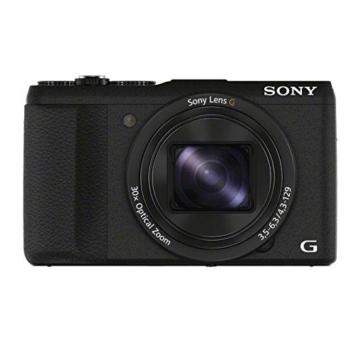 Sony DSC-HX60V Digital Kamera (7,6 cm (3 Zoll), WiFi) schwarz