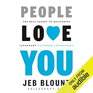 People Love You audiobook cover art