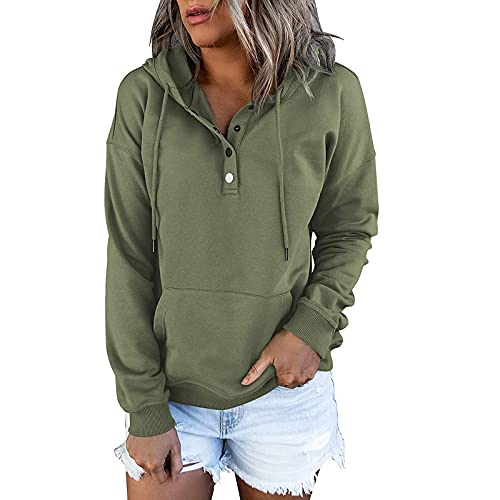 Womens Casual Hoodie Plaid Jacquard Long Sleeve Drawstring Pullover Hooded Sweatshirts with Pocket