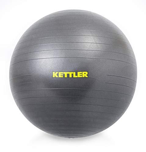 Kettler Unisex– Erwachsene Gym Ball, 75 cm, anthrazit
