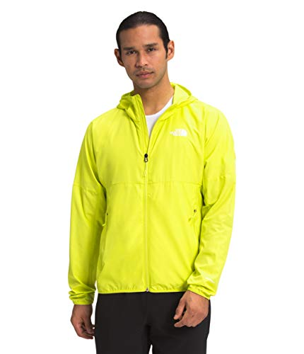 The North Face Men's Flyweight Hoodie, Sulphur Spring Green, L