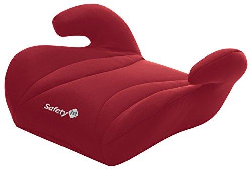 Safety 1st Manga Safe Rialzo Auto Seggiolino Gruppo 2/3, Seduta Auto Bimbi 15-36 kg, 3-12 Anni, Rosso