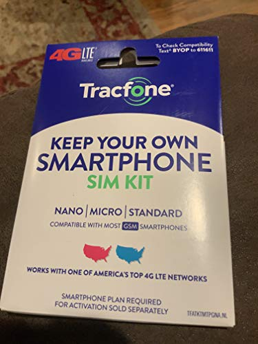 Tracfone Prepaid Wireless Smartphone 1 Year (365 Days) Plan + SIM - Refill 1200 Minutes, 1200 TXTs, 3GB Data (3GB Data, 1200 Minutes, 1200 Texts, Unlocked Phones (Compatible with AT&T/T-Mobile))