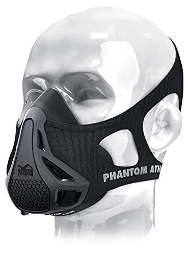 Phantom Athletics Training Mask - Maschera da Elevazione - Nero - L