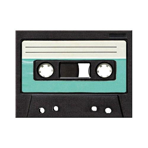 Nostalgic-Art 14293 Retro Wave - Retro Cassette | Retro Magnet | Kühlschrank-Magnet | Vintage | 8x6 cm